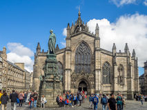 St Giles Cathedral imagens de stock royalty free