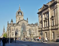 St. Giles Cathedral Royalty Free Stock Photos