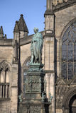 St Giles Cathedral Church; Royal Mile; Lawnmarket; Edinburgh Royalty Free Stock Photography