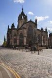 St Giles Cathedral a Edimburgo Fotografia Stock