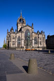 St Giles Cathedral, Edinburgh. St Giles Cathedral or High Kirk on the Royal Mile in Edinburgh on a clear summer day Royalty Free Stock Photography