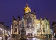 St Giles Cathedral in Edinburgh lizenzfreies stockfoto
