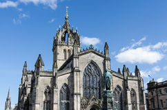 St. Giles Cathedral in Edinburgh. Scotland Royalty Free Stock Image