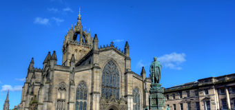St. Giles Cathedral. In Edinburgh, Scotland Royalty Free Stock Photo