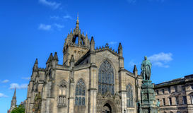 St. Giles Cathedral. In Edinburgh, Scotland Royalty Free Stock Photos