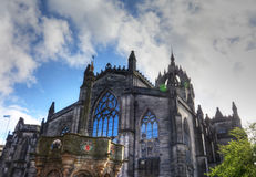 St. Giles Cathedral. In Edinburgh, Scotland Stock Image