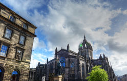 St. Giles Cathedral. In Edinburgh, Scotland Royalty Free Stock Image