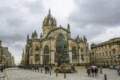 St Giles' Cathedral,  Edinburgh, Scotland, 4/7/12 Stock Photos