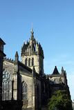 St. Giles' Cathedral in Edinburgh. St Giles' Cathedral is situated on the Royal Mile, Edinburgh, Scotland Royalty Free Stock Photography