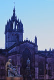 St Giles` Cathedral in Edinburgh Stock Images