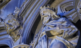 St Giles` Cathedral in Edinburgh Stock Photos