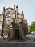 St Giles Cathedral em Edimburgo imagem de stock royalty free