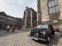 St Giles Cathedral em Edimburgo fotografia de stock royalty free