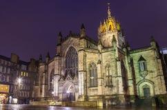 St Giles Cathedral em Edimburgo Fotografia de Stock
