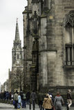 St Giles' Cathedral, the High Kirk of Edinburgh, Church of Scotland Royalty Free Stock Photography