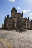 St Giles Cathedral i Edinburg Arkivbild