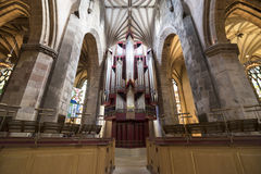 St. Giles' Cathedral. A picture of the St. Giles' Cathedral in Edinburgh Royalty Free Stock Photo