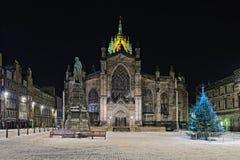St Giles Kathedraal (Hoge Kirk), Edinburgh stock foto