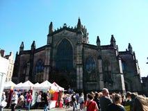 St- Giles` Kathedrale stockfoto