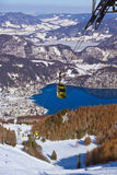 St Gilgen Австрия лыжного курорта гор Стоковая Фотография