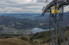 St. Gilgen Cable Car Stock Images