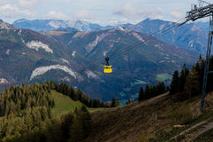 St. Gilgen Cable Car Stock Image