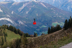 St. Gilgen Cable Car Stock Photography