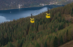 St. Gilgen Cable Car Royalty Free Stock Images