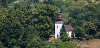 St. Gilles Church in Ilja, Slowakei lizenzfreie stockfotografie