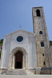 St. Giovanni Church. (Gubbio, center of Italy Royalty Free Stock Image