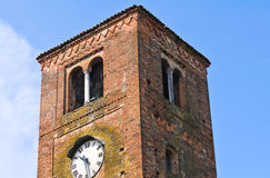 St.Giovanni church. Vigolo Marchese. Emilia-Romagna. Italy. Stock Images