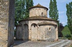 St.Giovanni church. Vigolo Marchese. Emilia-Romagna. Italy. Stock Photography