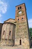 st.Giovanni kościół. Vigolo Marchese. emilia. Włochy. Obrazy Stock