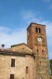 st.Giovanni kościół. Vigolo Marchese. emilia. Włochy. Zdjęcie Stock