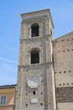 St. Giuliano Belltower Cathedral. Macerata.Marche. Stock Foto