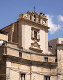 St. Giuseppe church, Leonforte Royalty Free Stock Photography