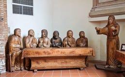 St. Giuseppe church. Pellegrino Parmense. Emilia-Romagna. Italy. Stock Photos