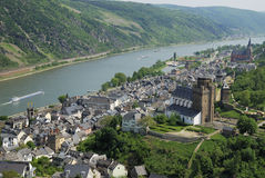 St. Goar Stock Photo