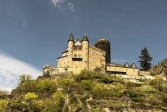 St Goar Rhineland Palatinate Германия Стоковое Изображение RF