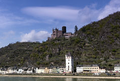 St Goar Rhineland Palatinate Germany images libres de droits