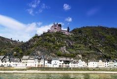 St Goar Rhineland Palatinate Germany image stock