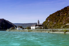 St. Goar Rhineland Palatinate Germany Stockfotos