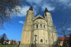 St. Goherard church in Hildesheim Royalty Free Stock Photo