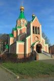 St. Goradz church in Olomouc Stock Images