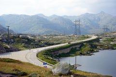 St. Gotthard Pass Stock Photos