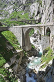 St. Gotthard pass, Switzerland Royalty Free Stock Image