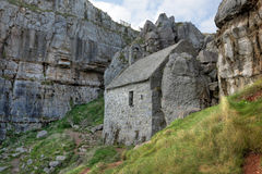 St Govan's Chapel Pembrokeshire Stock Image