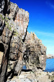 St Govan's Head, Pembrokeshire, Wales Royalty Free Stock Photography