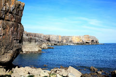 St Govan's Head, Pembrokeshire, Wales Royalty Free Stock Photo