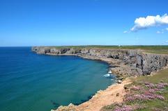 St Govans Head Pembrokeshire Stock Photo